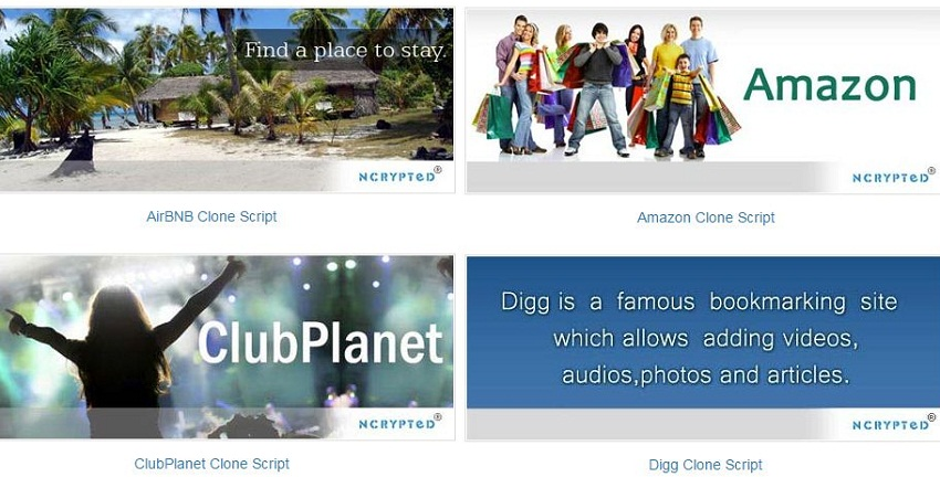 amazon digg like site top clone