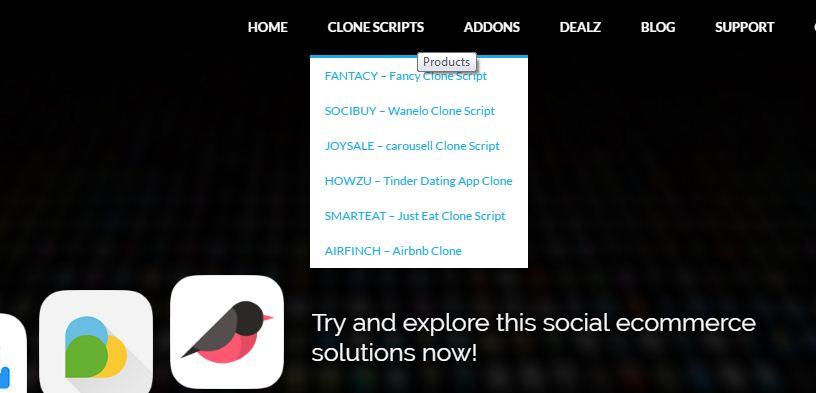 top clone script buy